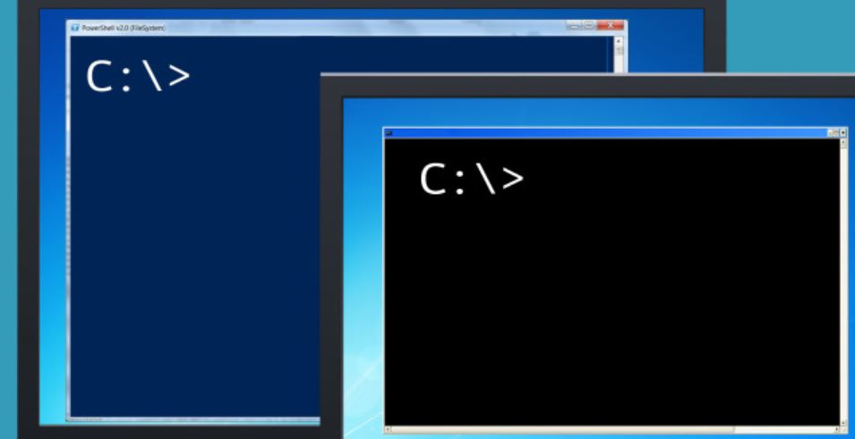Powershell Vs CMD