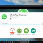 WhatsApp on PC with Bluestacks